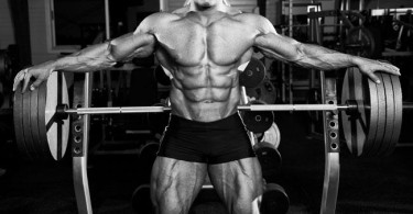 Muscular man in gym - tyrosine article