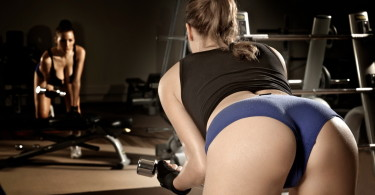 Hot gym girl - HMB bodybuilding article