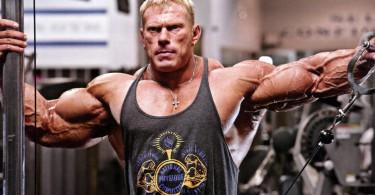 Dennis Wolf shoulder workout