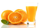 Vitamin C - oranges and orange juice