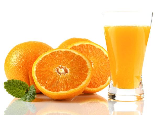 Vitamin C - oranges and orange juice