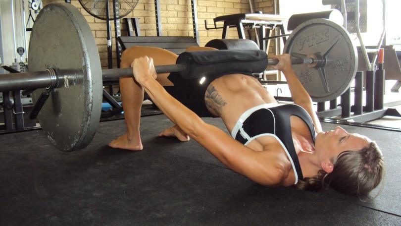 Female butt workout