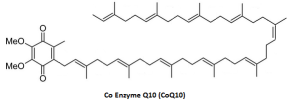 Coenzyme Q10 chemical structure