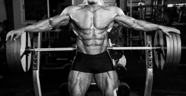 Muscular man in gym - tyrosine article