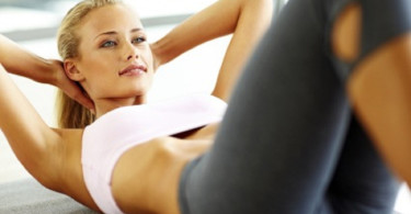 sexy fir girl working-out