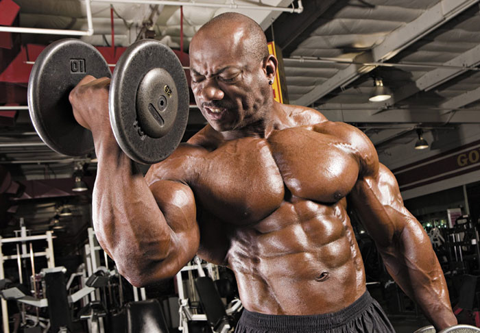 Dexter Jackson workout