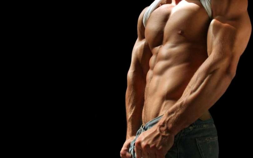 Hot muscular man