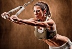 Women Bodybuilding Triceps workout