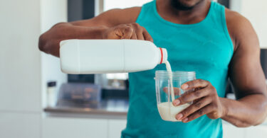 consuming milk after workout